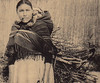 Indian Mother & Child (~ Lone Wadi ~) Tags: nativeamericans americanindians pipe pipesmoker outdoors unknown retro