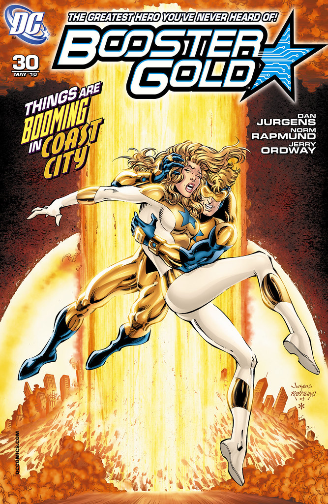 Booster Gold (2007) #30