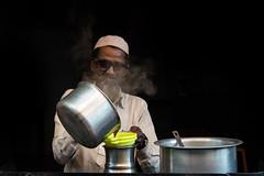 Chai walla (Karunyaraj) Tags: ajmer chaiwalla chai tea muslim cap white cwc cwc561 chennaiweekendclickers nikond610 d610 nikon24120 fullframe