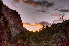 Zion NP (Herculeus.) Tags: 2016 oct ut zionnp outdoor mountain sun sky clouds landscape sunset 5photosaday fall outside outdoors mountains utah usa