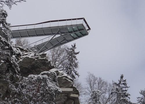 Drachenfelsen - Aussichtsplattform