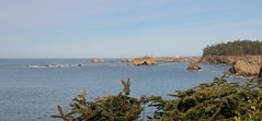 Sunset Bay panorama (rozoneill) Tags: bastendorff beach bog trail sunset bay state park coos jetty charleston oregon coast oct hiking