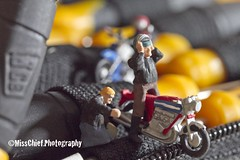 #23 In or from the tool box (♥ MissChief Photography ♥) Tags: miniworld figurines preiser noch miniatures tools bikers 117picturesin2017