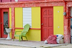 Colorfull porch