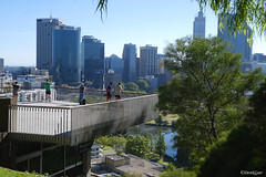 Inspiring view of Perth city from Kings Park (derekngill) Tags: kingspark perthcity