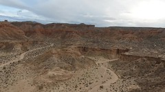 Gold Butte 2 (LDELD) Tags: arial dji video nevada goldbuttenationalmonument desert dry rugged virginriver