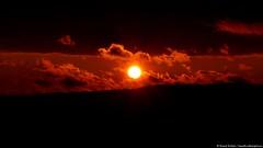Between the Darkness (danielkoehlersphotos) Tags: sunset darkness clouds wolken twilight red sonnenuntergang dusk line danielkoehlersphotos danielköhler light licht gloom halflight dämmerung gloaming