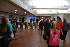 Gates Closing (railsnroots) Tags: demonstrations first amendment womens march protest signs