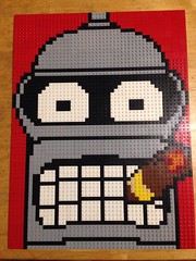 """Bender Mosaic • <a style=""""font-size:0.8em;"""" href=""""https://www.flickr.com/photos/38446022@N00/32477804666/"""" target=""""_blank"""">View on Flickr</a>"""