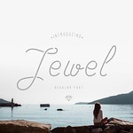 Jewel is a unique typeface. This is font would be perfect to combine in your design with vintage style. The font is great for product logo,wedding card, clothing brand, design greeting, prints, web design, invitation, business cards, caffee and much more.
