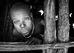 ethiopia - omo valley (mauriziopeddis) Tags: africa ethiopia etiopia omo valley river mursi people tribe tribù tribal portrait portraits ritratto ritratti ban bn bianconero blackandwhite reportage leica canon sl