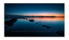 Stupid O'Clock at Islandhill (RonnieLMills) Tags: islandhill rough island dawn blue hour sunrise strangford lough reflections causeway rocks water serene stupidoclock greatphotographers
