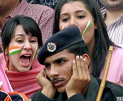 india-pak-girl-screaming (AmitShah) Tags: girl cricket match screaming indiapakistan