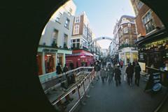 Fun with Lomo Fisheye (obfuscator) Tags: london lomo lomography fisheye