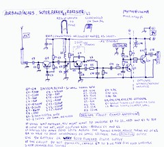 VHF Airband Receiver - Schematics (psychopxray) Tags: receiver schematic airband