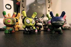 A Gaggle of Dunny (TerryJohnston) Tags: macro la kidrobot hollywood undead figures dunny painkiller thomashan niccowan chadphillips losangelesseries