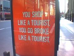 shoplikeatourist - by batsignal