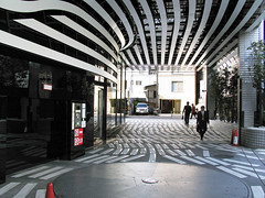 Tokyo: modern architecture and traditional housing (Chris Kutschera) Tags: japan architecture tokyo design asia