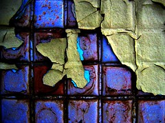 Decline (Michael Mitchener) Tags: old toronto contrast peeling paint decay urbandecay flake nightclub tiles saturation layers flaking broadview supersaturation easttoronto waitingforastreetcar broadviewvillage jmdk tpl2010 vvc2010