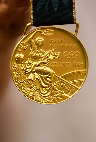 Olympic Gold Medal by disneymike.