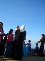Family Outing (Mink) Tags: family people children seaside clothing day babies waterfront gulf traditional hijab national arab voyeur kuwait arabian abaya