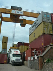 container terminal, Blantyre