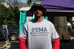 FEMA Evacuation Plan (G. J. Charlet III) Tags: shirt katrina louisiana neworleans hurricane hurricanekatrina mardigras fema mardigras2006