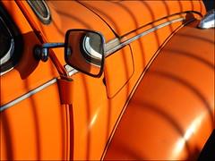 after blake (chirgy) Tags: shadow orange london volkswagen beetle blake walthamstow tyger cotcmostfavorited interestingness39 limitedpalate i500 bestoforange 00080