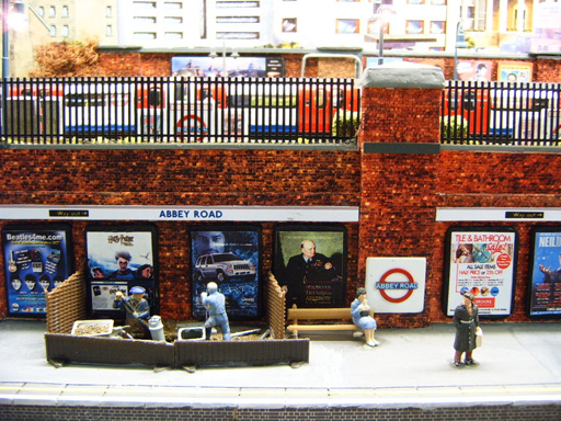Abbey Road Model Tube Station