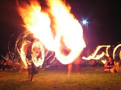 IMG_8710 (larinalou) Tags: light blur night fire slow australia qld shutterspeed firetwirling burleigh