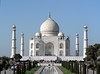 In All It's Glory (Lazy B) Tags: india white building architecture tomb towers tajmahal agra 2006 marble february fz5 domes indianarchive