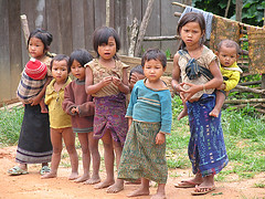 bambini di Vang Vieng (**luisa**) Tags: poverty children kid asia child laos vangvieng