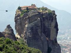 monasterio en meteora (Grecia) (dimashoo) Tags: meteora kalambaka kastraki agiastrias