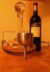 Decanting Wine 003 (Lynne Hand) Tags: wine redwine decanter decanting