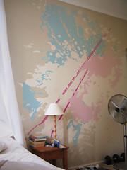 Bespoke wallpaper / Bedroom