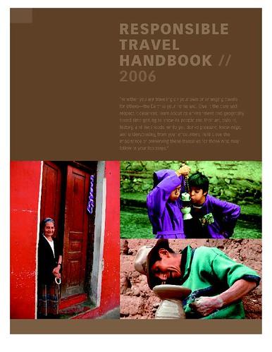 Responsible Tourism Handbook