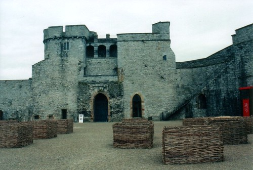 Inside King John's Castle