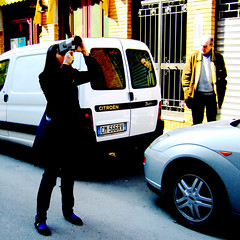 staring at (POOR IMPULSE CONTROL) Tags: valeria f11 super8 portavittoria piazzamartini