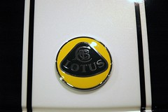 2006 Lotus Elise badge closeup (StanD70) Tags: car automobile d70 lotus 2006 1870mmf3545g badge carshow ncautoexpo stand70