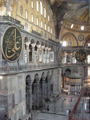 Hagia Sophia and the people like ants (John of Witney) Tags: istanbul hagiasophia sophia hagia ayasofya stsophia aplusphoto turchiatrkiye