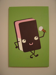 heavy february (chase.) Tags: cute green smile fun happy cone character cartoon icecream cannibal neopolitan