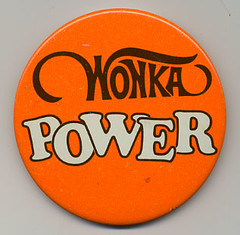 Willy Wonka promo button