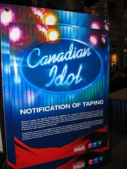 w00t taping (dragfyre) Tags: mall shopping lol ottawa canadian idol auditions
