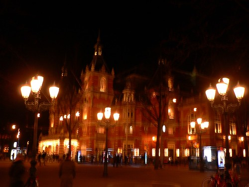 Leidseplein at night