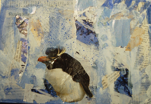 Penguin postcard (Copyright Hanna Andersson)
