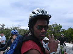 Half Moon Cay Bike Ride 1 (GuvLuvuh) Tags: moon half cay
