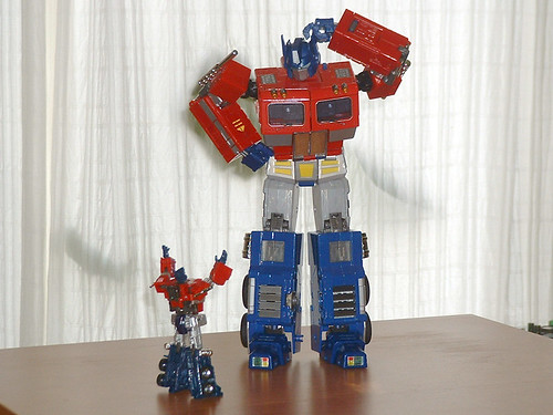 Optimus prime en masterpiece