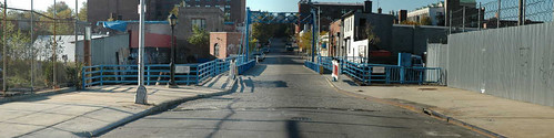Stitched Wide Shot of Carroll Street Bridge