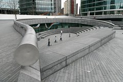 Skaters outside the Greater London Assembly building (Dean Ayres) Tags: uk england london skaters greaterlondonassembly