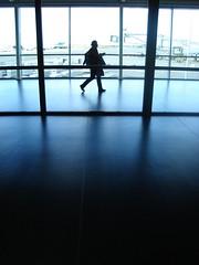 amsterdam 2 4 06 021 (DeeeB) Tags: amsterdam silhouette geotagged airport blues passanger challengewinner 3wayassignment21 deeeb